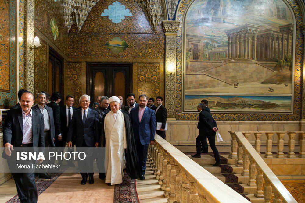Image result for isna photo کاخ مرمر رفسنجانی